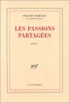 """Couverture du livre : """"Les passions partagées"""""""