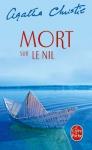 """Couverture du livre : """"Mort sur le Nil"""""""