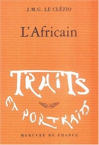 """Couverture du livre : """"L'Africain"""""""