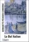 """Couverture du livre : """"Le bel Italien"""""""