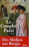 """Couverture du livre : """"Le complot Pazzi"""""""
