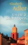 """Couverture du livre : """"Un été à Saint-Tropez"""""""