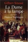"""Couverture du livre : """"La dame à la lampe"""""""