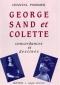 """Couverture du livre : """"George Sand et Colette"""""""