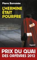 """Couverture du livre : """"L'Hermine était pourpre"""""""