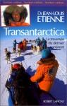 """Couverture du livre : """"Transantarctica"""""""