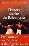 """Couverture du livre : """"L'histoire secrète des Ballets russes"""""""