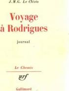 """Couverture du livre : """"Voyage à Rodrigues"""""""