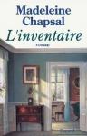 """Couverture du livre : """"L'inventaire"""""""