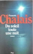 """Couverture du livre : """"Du soleil toute une nuit"""""""
