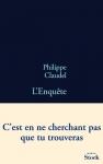 """Couverture du livre : """"L'enquête"""""""