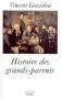 """Couverture du livre : """"Histoire des grands-parents"""""""