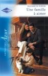 """Couverture du livre : """"Une famille à aimer"""""""