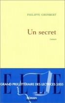 """Couverture du livre : """"Un secret"""""""