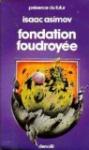 """Couverture du livre : """"Fondation foudroyée"""""""