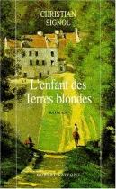 """Couverture du livre : """"L'enfant des terres blondes"""""""