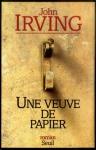 """Couverture du livre : """"Une veuve de papier"""""""