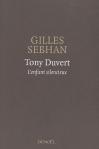 """Couverture du livre : """"Tony Duvert"""""""