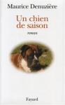"""Couverture du livre : """"Un chien de saison"""""""