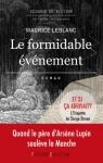 """Couverture du livre : """"Le formidable événement"""""""