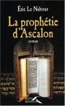 """Couverture du livre : """"La prophétie d'Ascalon"""""""