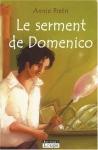 """Couverture du livre : """"Le serment de Domenico"""""""