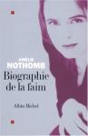 """Couverture du livre : """"Biographie de la faim"""""""