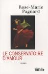 """Couverture du livre : """"Le conservatoire d'amour"""""""