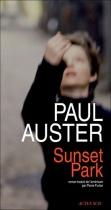 """Couverture du livre : """"Sunset Park"""""""
