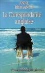 """Couverture du livre : """"La correspondante anglaise"""""""