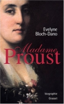 """Couverture du livre : """"Madame Proust"""""""