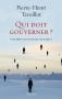 """Couverture du livre : """"Qui doit gouverner ?"""""""