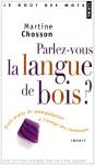 """Couverture du livre : """"Parlez-vous la langue de bois?"""""""