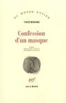 """Couverture du livre : """"Confession d'un masque"""""""