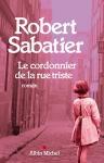 """Couverture du livre : """"Le cordonnier de la rue triste"""""""