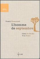 """Couverture du livre : """"L'homme de septembre"""""""