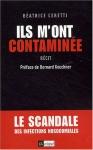 """Couverture du livre : """"Ils m'ont contaminée"""""""