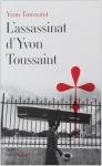 """Couverture du livre : """"L'assassinat d'Yvon Toussaint"""""""