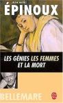 """Couverture du livre : """"Les génies, les femmes et la mort"""""""