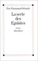 """Couverture du livre : """"La secte des égoïstes"""""""