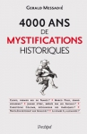 """Couverture du livre : """"4000 ans de mystifications historiques"""""""