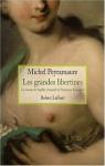 """Couverture du livre : """"Les grandes libertines"""""""