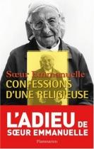 """Couverture du livre : """"Confessions d'une religieuse"""""""
