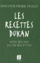 """Couverture du livre : """"Les recettes Dukan"""""""