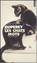 """Couverture du livre : """"Les chats mots"""""""