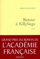 """Couverture du livre : """"Retour à Killybegs"""""""