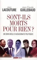 """Couverture du livre : """"Sont-ils morts pour rien ?"""""""