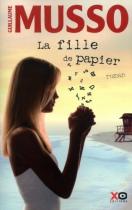 """Couverture du livre : """"La fille de papier"""""""