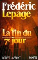 """Couverture du livre : """"La fin du septième jour"""""""