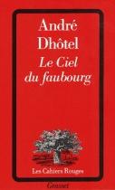 """Couverture du livre : """"Le ciel du faubourg"""""""